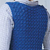 Indigo Sleeveless Jacket