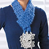 Snow Crystal Scarf