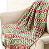 At Home -- Traditions Mosaic Afghan