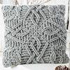 At Home -- Braided Glory Throw Pillow
