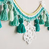 Tassels & Snowflakes Winter Garland