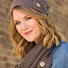 Button Up Slouchy Hat & Cowl