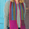 Up, Down, Across & Around Scarf