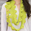 Lacy Scallops Scarf
