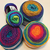 Crocheting With Self-Striping Yarns